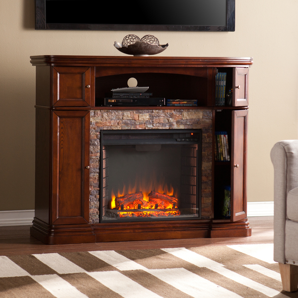 Faux Stone Electric Fireplace And Its Advantages Homesfeed
