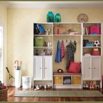 Walmart closet organizer idea without door