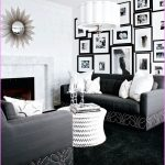 White Black And Grey Color For Living Room With Old Hollywood Glamour Decor
