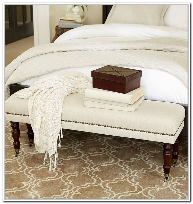 End Of Bed Bench Decorative Bed Foot Space Filler Homesfeed