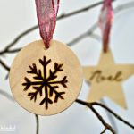 Wood Burned Christmas Holiday Ornaments To Make