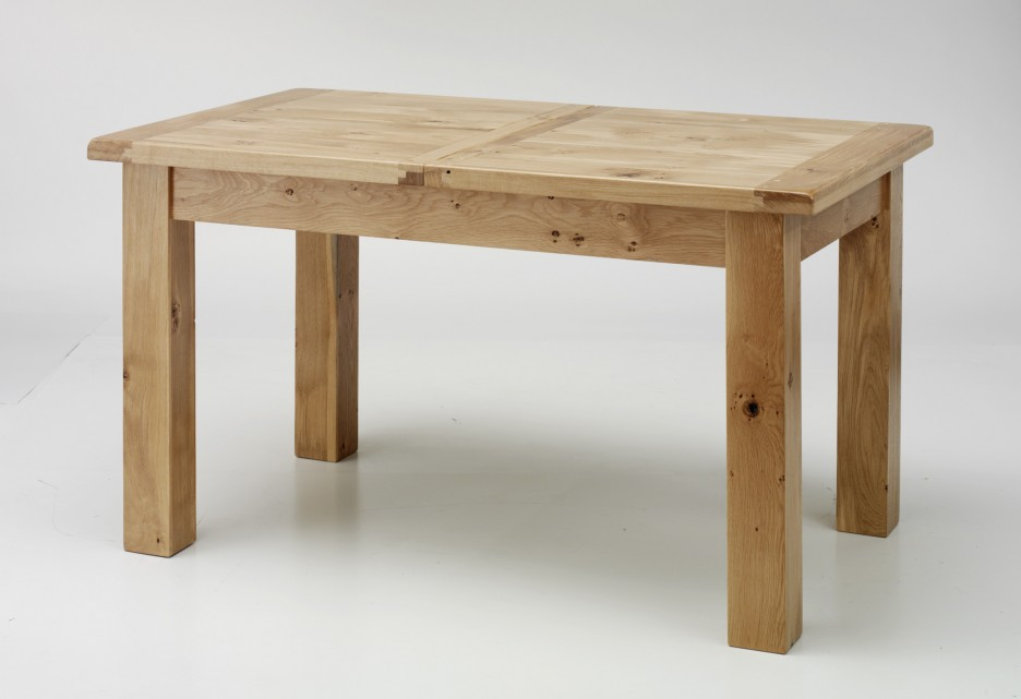 Wooden Small Rectangular Dining Table Design