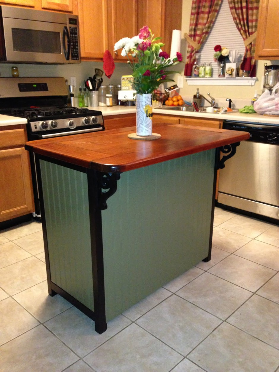 create a custom diy kitchen island best small kitchen design with island for 9516