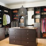 amazing large brown wooden dresser for closet design beneath giant vaulted pendant design on beige floor