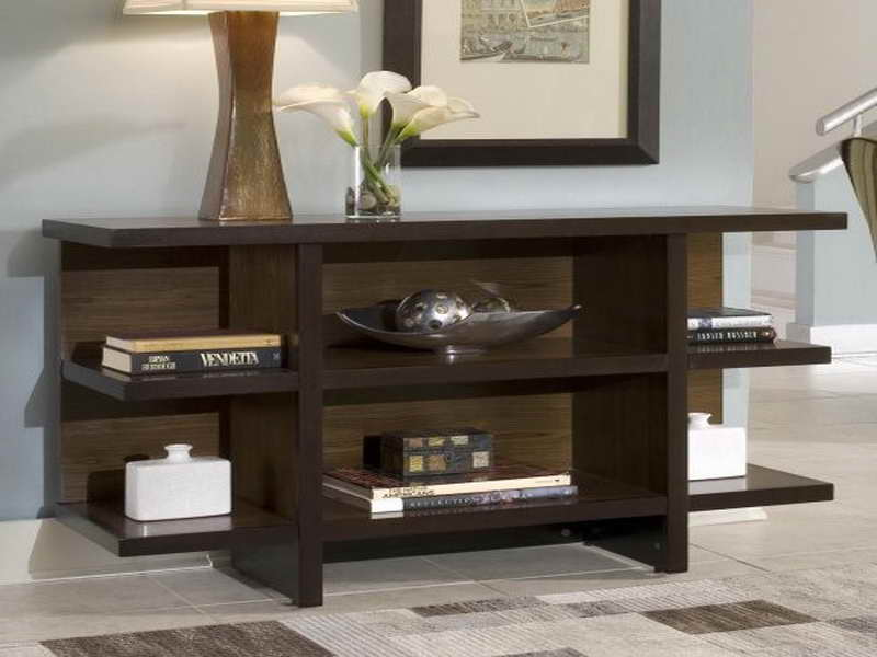 Console Tables Ikea With Amazing Shelving Units Together Captivating Table Lamp And Pictures Mounted On