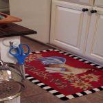 Cool Red Rooster Kitchen Rugs For Country Outlook On Kitchen Floor