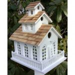 creative-and-decorative-chapel-bell-birdhouse-with-adorable-little-bell-and-stained-glass-windows-and-pine-shingled-roof-made-of-wood