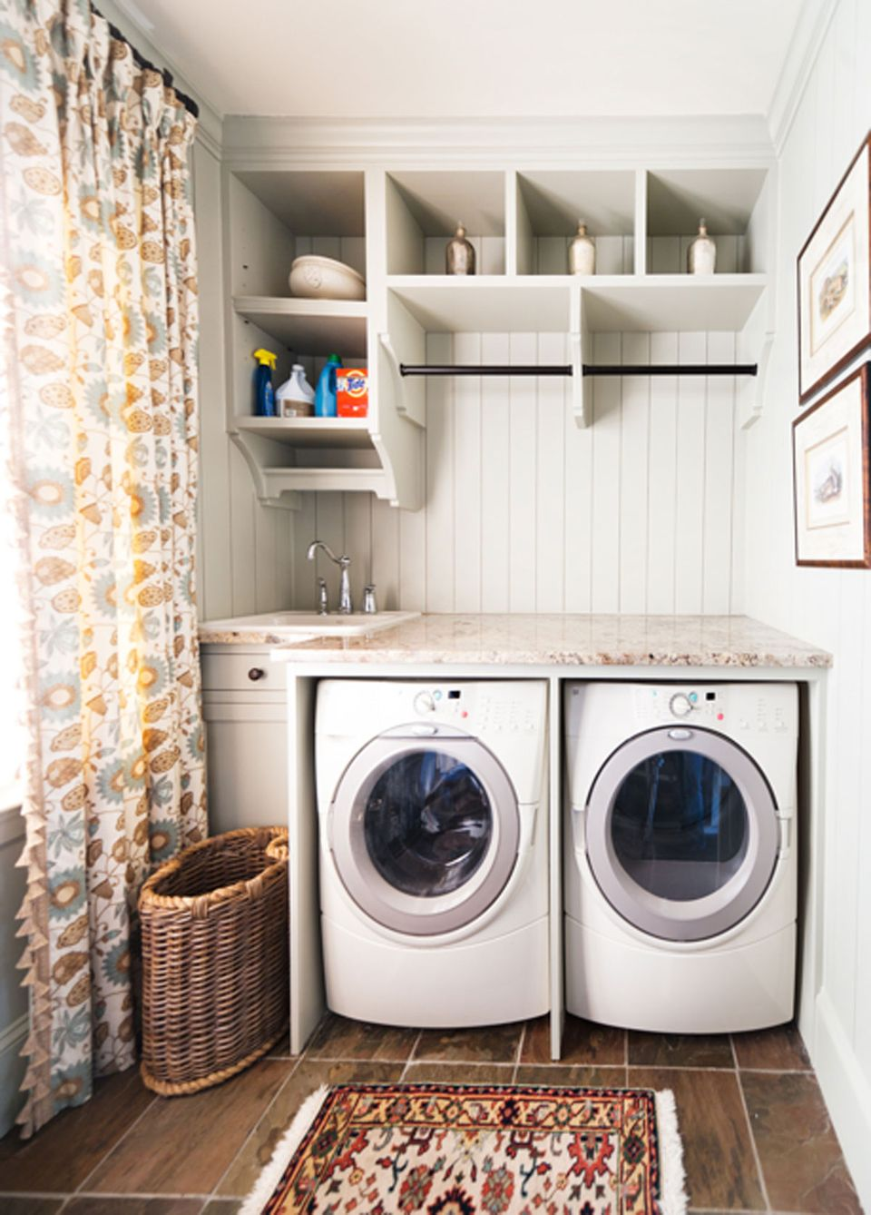 Laundry Room Shelving Ideas for Small Spaces You Need to ... on Laundry Room Organization Ideas  id=82783