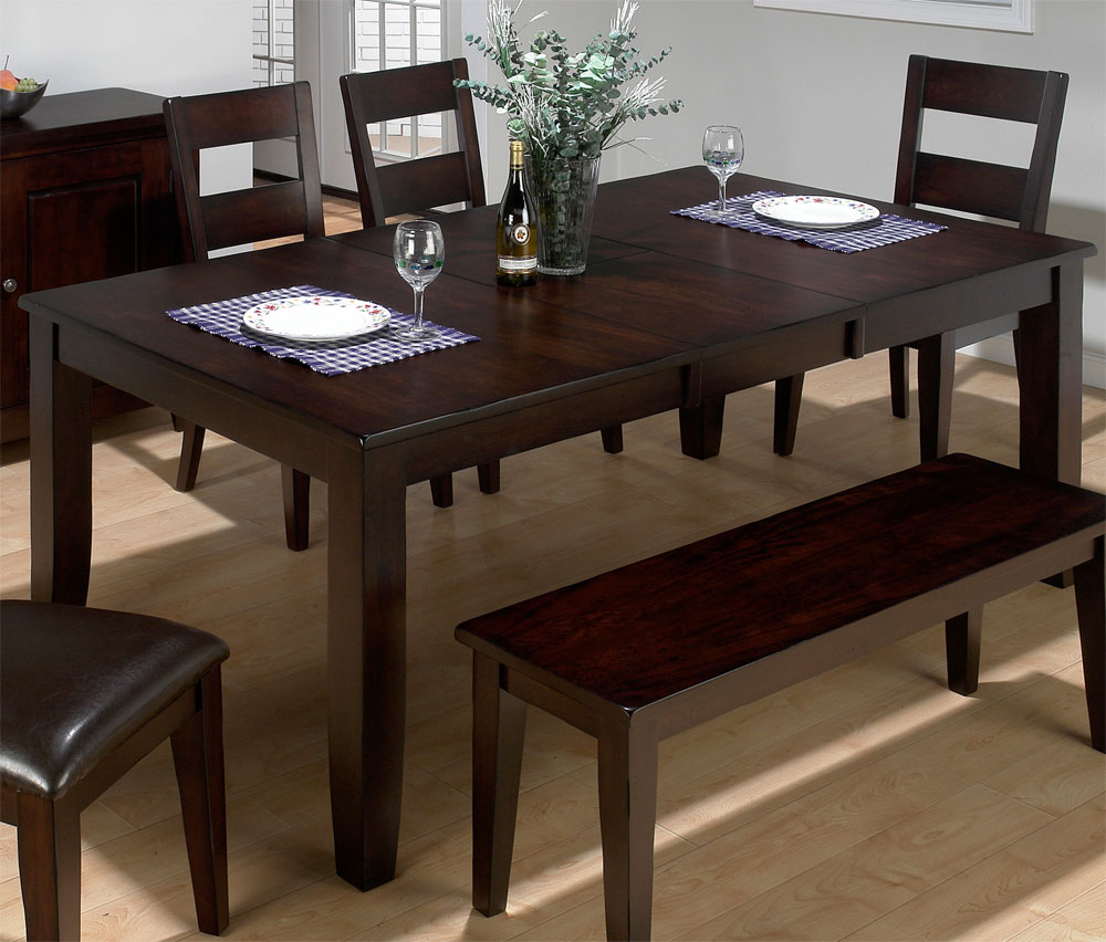 Dining Room Tables: The Best Dining Room Table With Bench For Charming Night