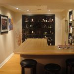 home bars ikea in small spaces with wooden cabinets and sectional counter and round bar stool