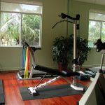 home gym essentials with modern gym equipment