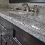 kashmir white granite counterops for bathroom vanity with sink and stunning faucet