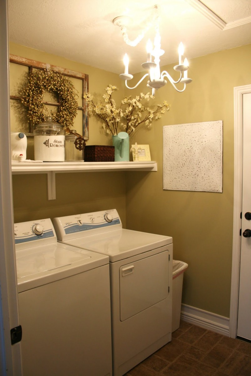 Laundry Room Home: Simple And Best Laundry Room Shelf That You Must Apply