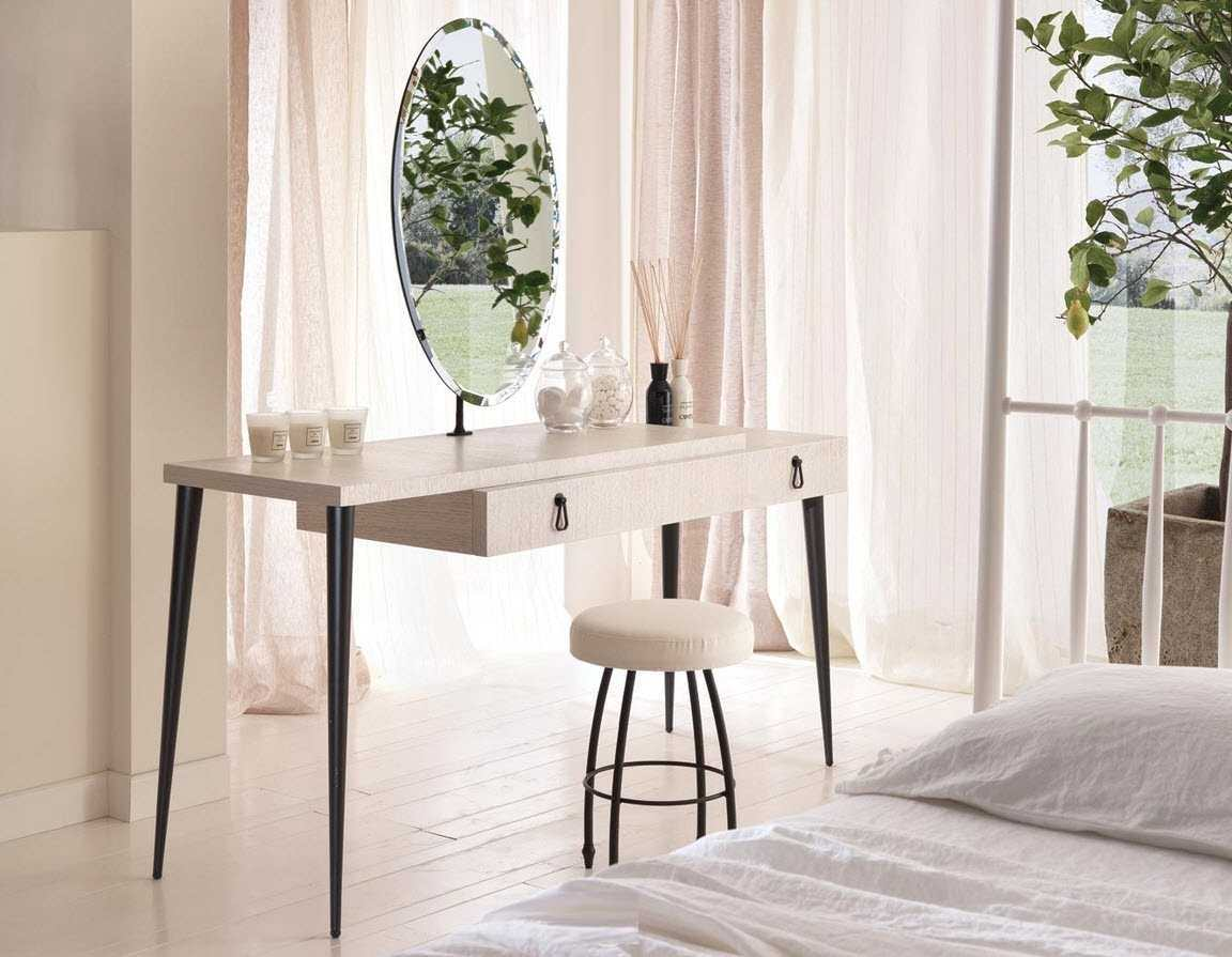 Modern Dressing Table With Mirror Vintage And