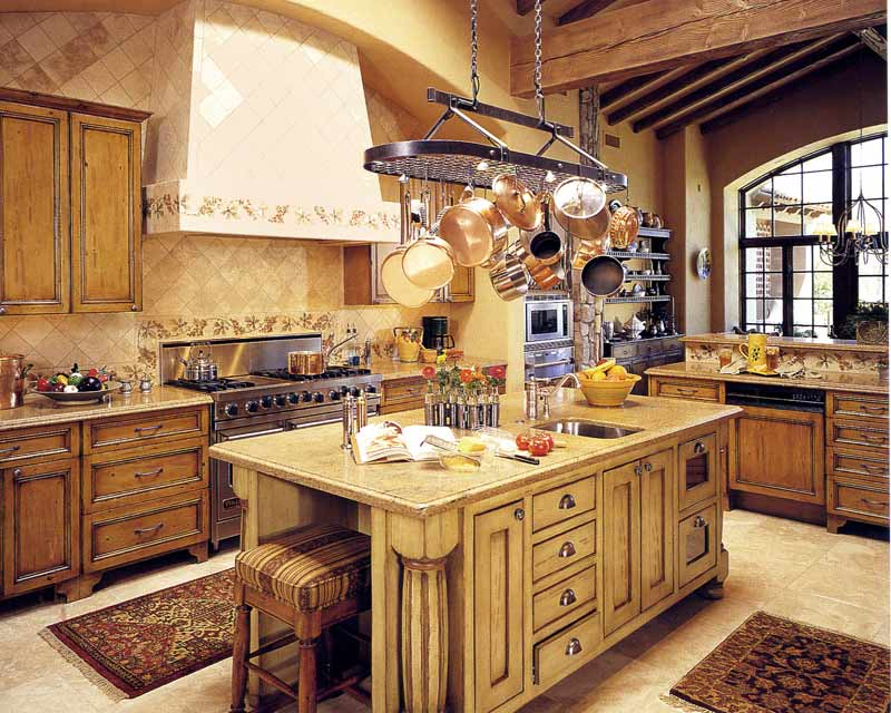 Lovely And Glamourous Kitchen Design With Island Bar Stool Plus Decorative Rug Pot Mesmerizing Ideas Rack