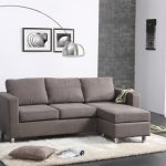 modern apartment sectional sofas with chaise and furry rug plus