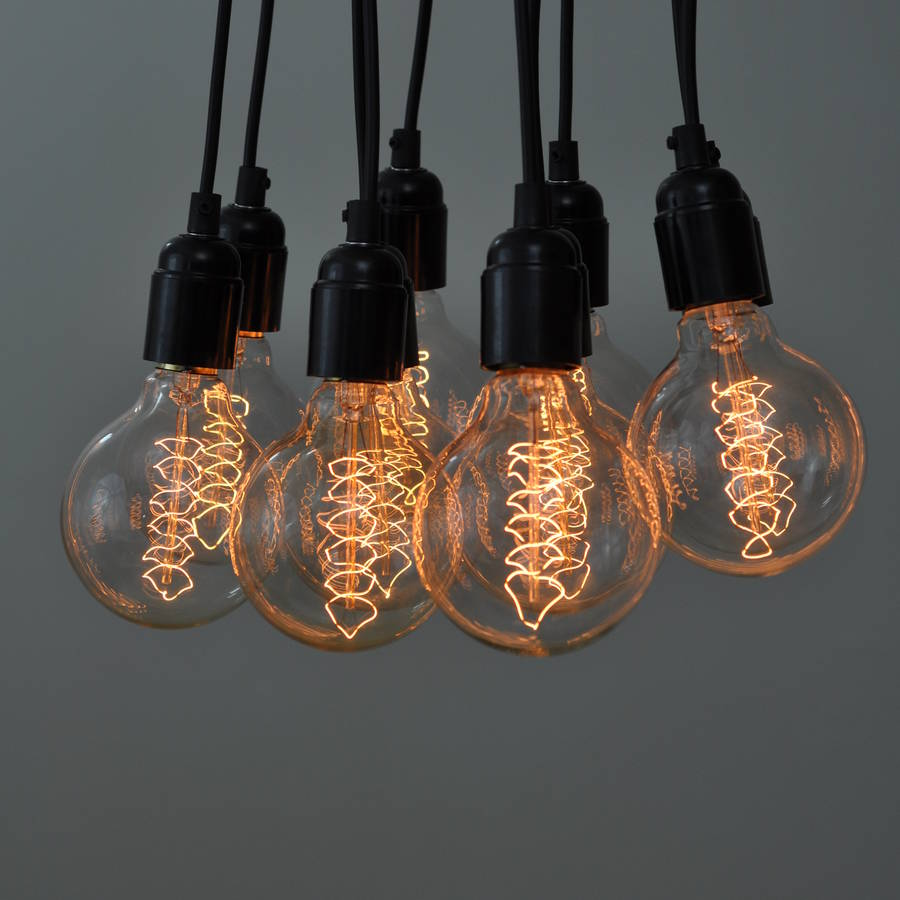 Old Fashioned Light Bulb For Classy Industrial Interior