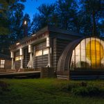 quonset hut homes and in combination with modern home ideas together with wide backyard