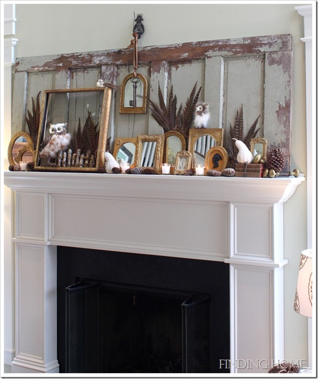 Rustic Mantel Décor That Will Adorn Your Bored To Death