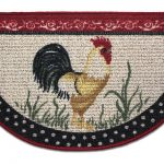 Simple Slice Rooster Kitchen Rugs For Kitchen Ideas