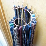 the-spiral-tie-rack-with-wall-curly-hook-and-long-hook-spiral-for-organize-and-display-ties-in-easily-accessible-way-also-mounted-on-the-wall-or-inside-a-closet-door
