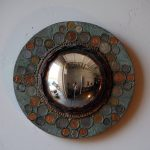 unique and classic small convex mirror with attractive frames