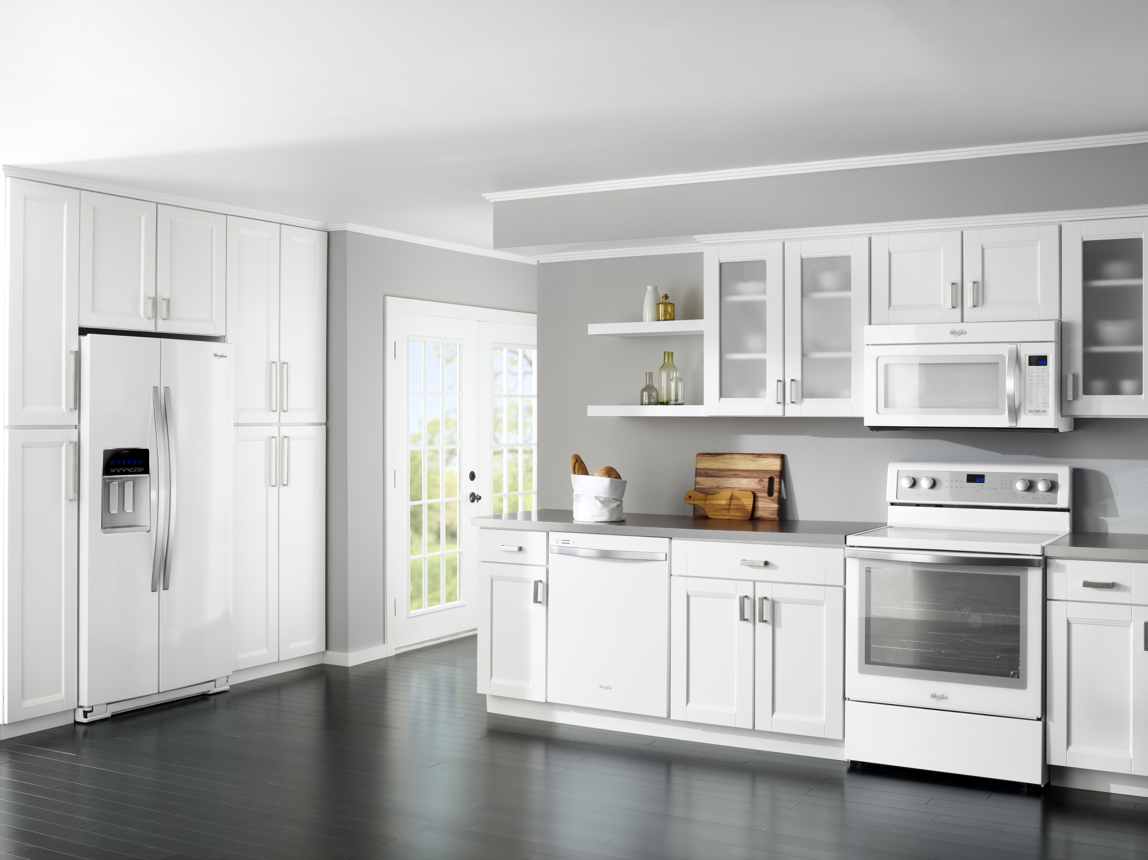 Whirlpool White Ice Collection Liances The Refrigerator And