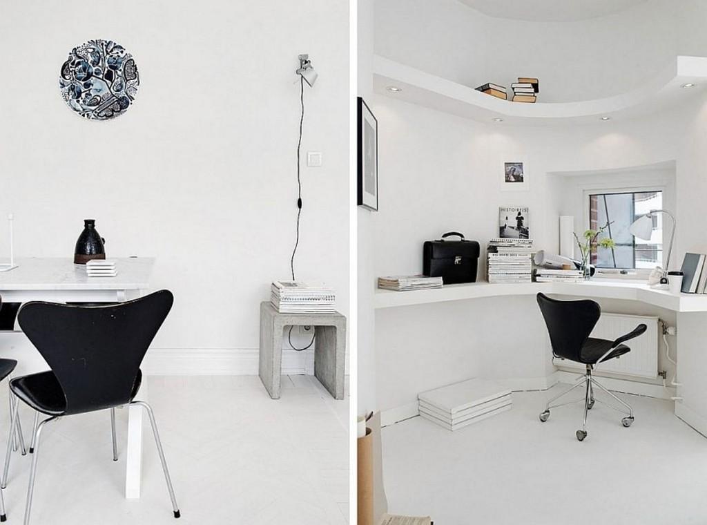 Floating Corner Desk Offering Spacious Visage Homesfeed