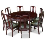 Awesome Seat Of 8 Person Round Dining Table