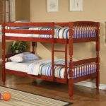 Awesome Wooden Sturdy Bunk Beds For Adults With Stairs