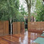 Bamboo made fence system as decorative fencing system