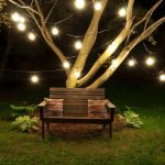 Beautiful string lights for outdoor