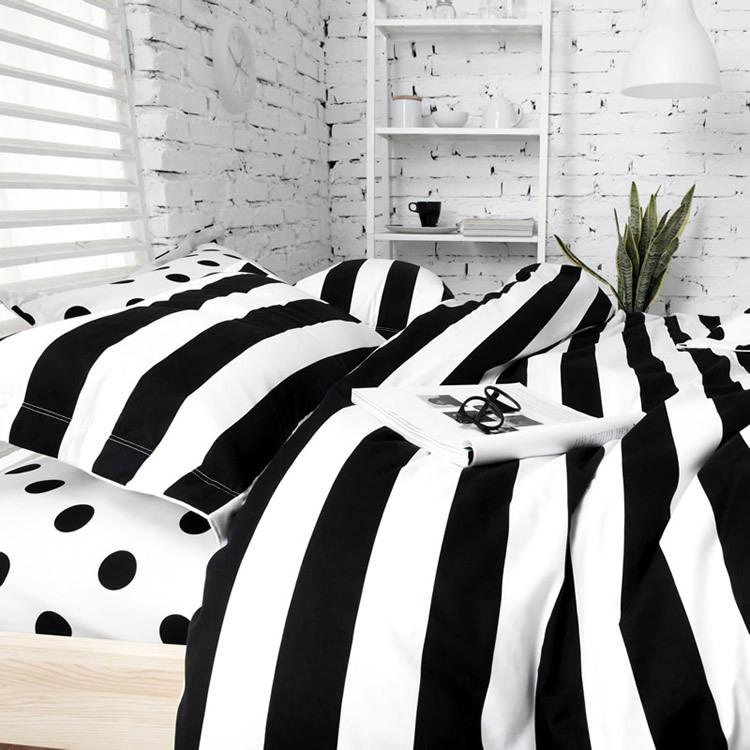 Unique Black And White Polka Dot Sheets Homesfeed