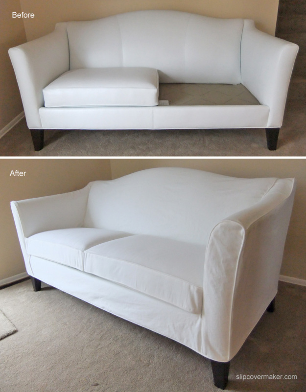 Best slipcover for leather sofa hereo sofa for Best faux leather sofa covers