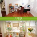 Before And After Look With Wall Organizers For Home Office