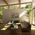 Best Living Room Design Inspiration With Glass Wall And Door