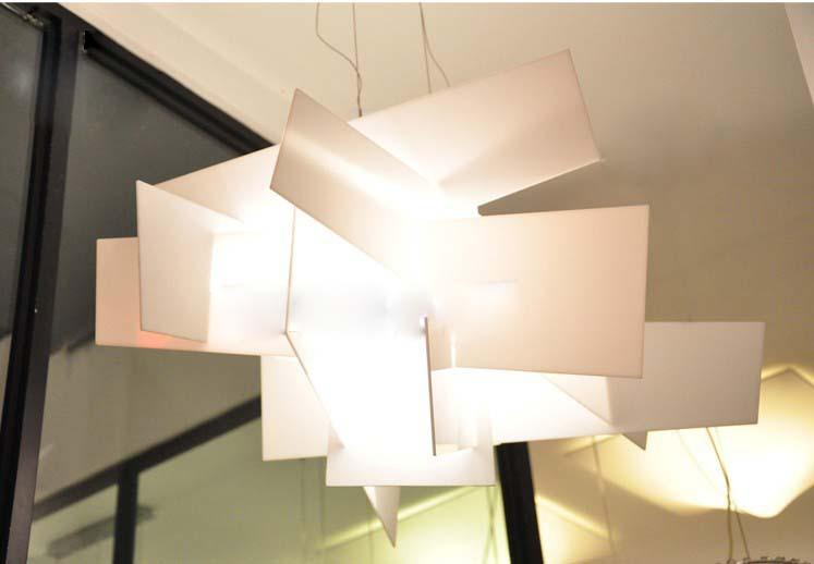 Bang Pendant Lamp In White