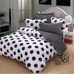 Black And White Polka Dot Sheets For Bedding