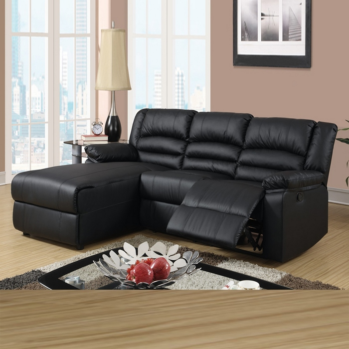 Rustic Brown Leather Sectional