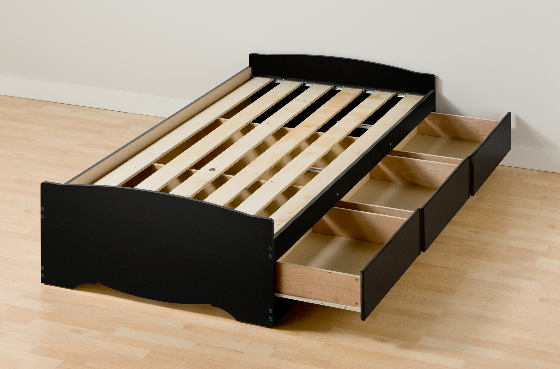 Twin Xl Storage Bed