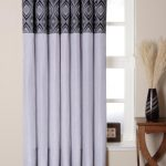 Black White Patterned Curtains