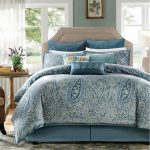 Blue White Patterned Design Harbour House Bedding With Pretty Pillows