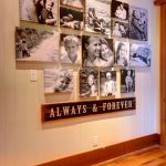 Canvas photo collage wall art