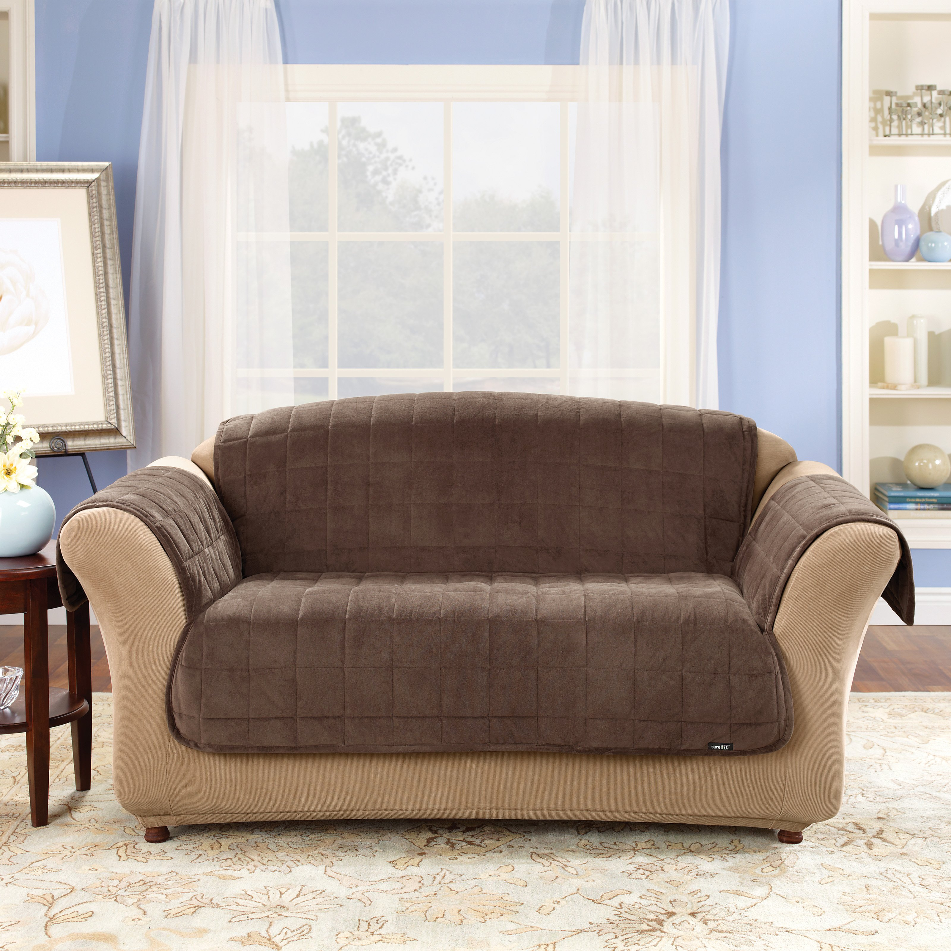 Slipcovers For Leather Couches Homesfeed