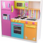 Colorful Toddler Wood Play Kitchen Sets