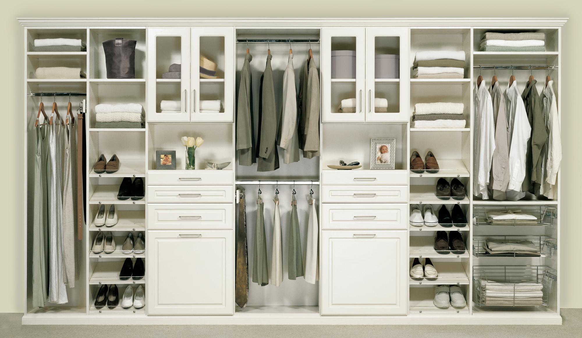 good closet storage cabinet homesfeed. Black Bedroom Furniture Sets. Home Design Ideas