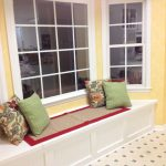 Cool Bay Window Seats With Storage And Beautiful Pillows