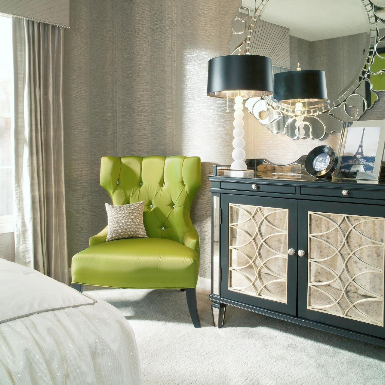 Cool Lime Green Accent Chair Homesfeed