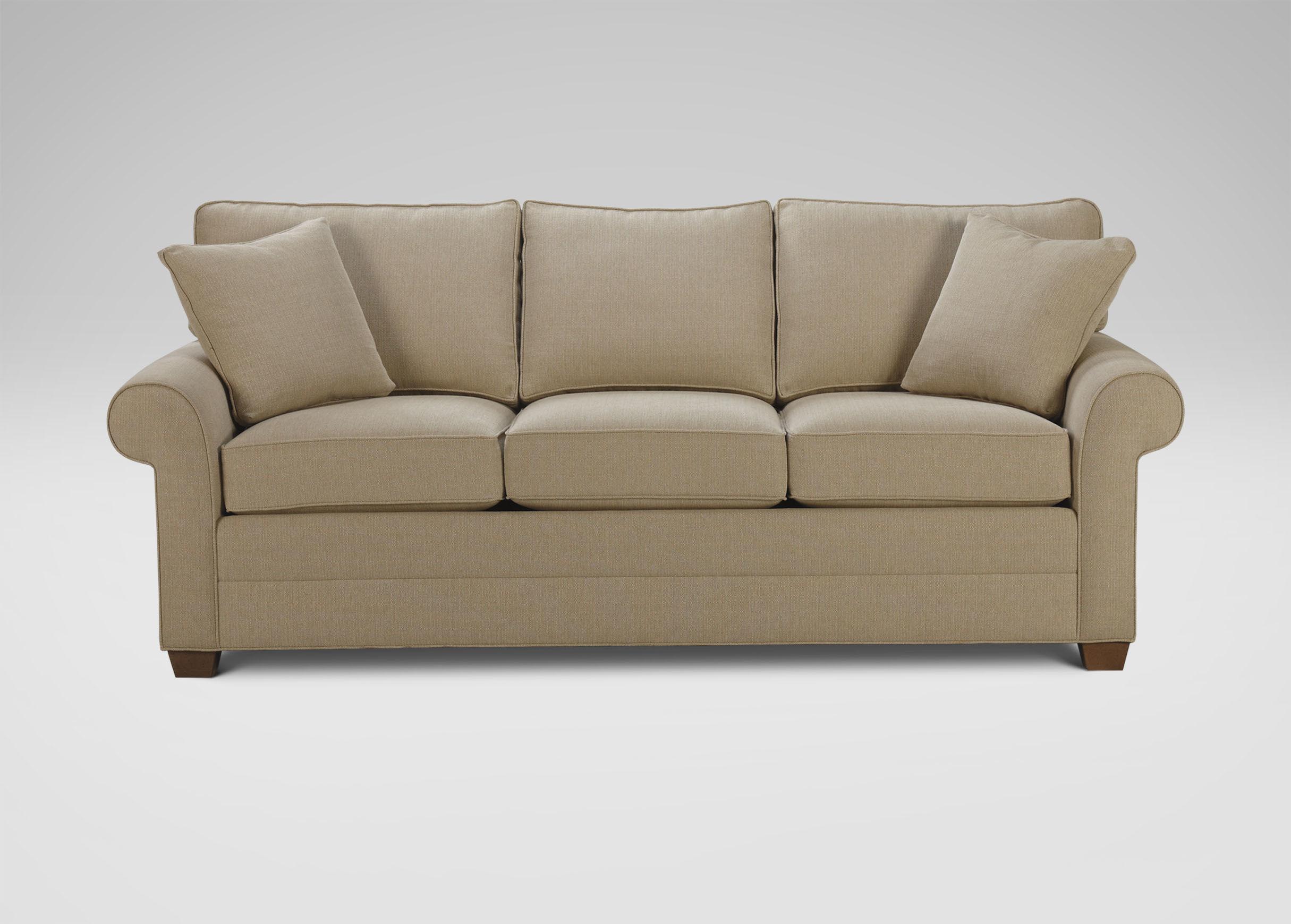 Ethan Allen Sleeper Sofa Air Mattress Centerfieldbarcom - Conversation sofa ethan allen bennett roll arm
