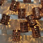 Creative vintage styled string lighting fixtures for outdoor